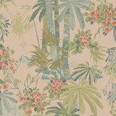Linwood Bamboo Garden Dusky Pink Wallpaper