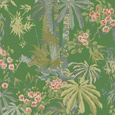 Linwood Bamboo Garden Emerald Wallpaper - Product code: LW077/004