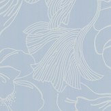 Farrow & Ball Helleborus Pale Blue Wallpaper - Product code: BP 5604