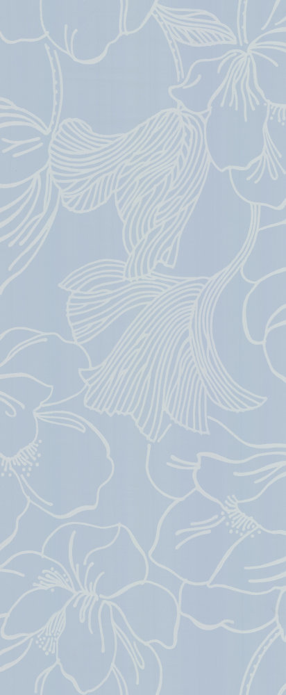 Farrow & Ball Helleborus Pale Blue Wallpaper main image