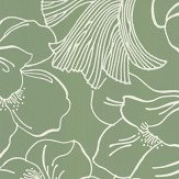 Farrow & Ball Helleborus Green Wallpaper