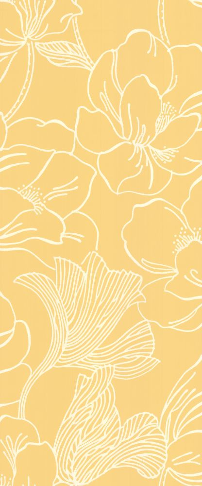 Farrow & Ball Helleborus Yellow Wallpaper main image