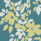 Farrow & Ball Hegemone Deep Teal Wallpaper