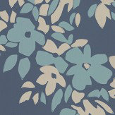 Farrow & Ball Hegemone Blue Wallpaper