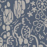Farrow & Ball Atacama Blue Wallpaper