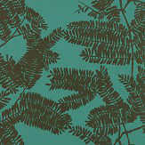 Harlequin Extravagance Emerald  Wallpaper
