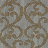 Harlequin Baroc Pewter Wallpaper