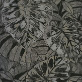 Casadeco Leaves Noir Wallpaper - Product code: 81079531