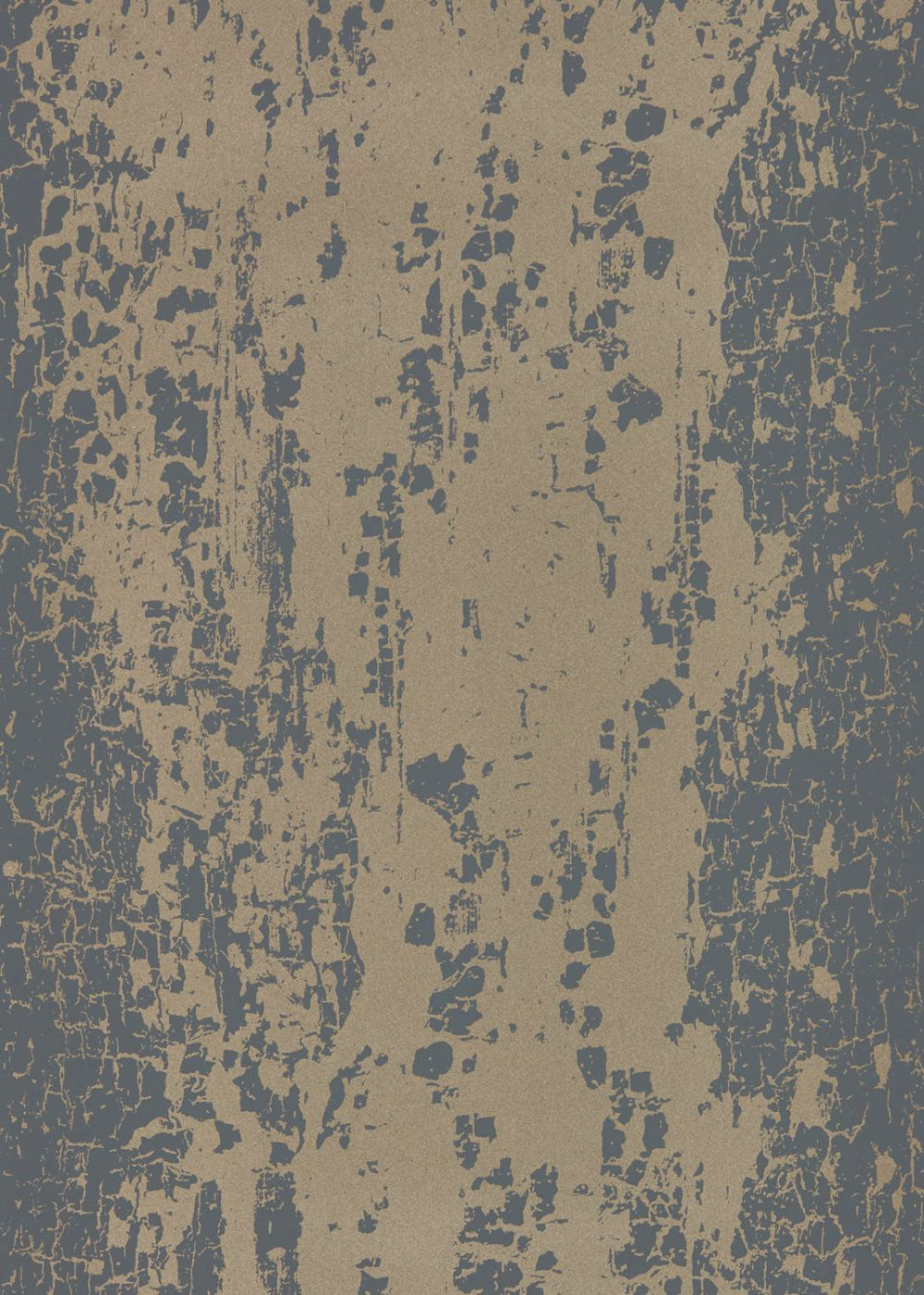 Eglomise Wallpaper - Shadow & Champagne - by Harlequin