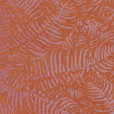 Casadeco Fern Orange Wallpaper - Product code: PANA 8108 36 13