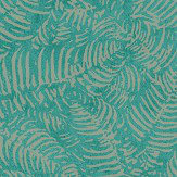 Casadeco Fern Emerald Wallpaper