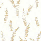 Casadeco Eucalyptus Yellow Wallpaper - Product code: PANA 8109 23 04
