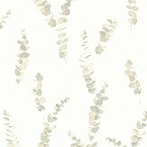 Casadeco Eucalyptus Almond Wallpaper