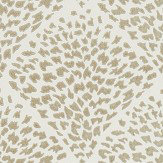 Harlequin Charm Gold & Chiffon Wallpaper