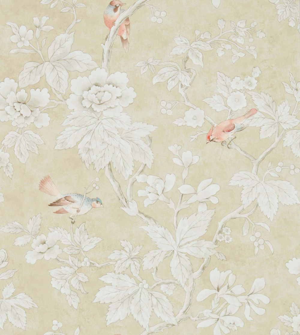 Sanderson Chiswick Grove Gold Wallpaper main image