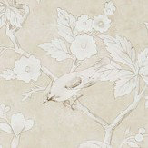 Sanderson Chiswick Grove Linen Wallpaper - Product code: 216386
