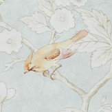Sanderson Chiswick Grove Silver Wallpaper - Product code: 216388