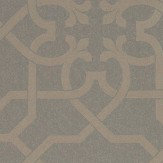 Sanderson Mawton Charcoal / Gilver Wallpaper - Product code: 216419