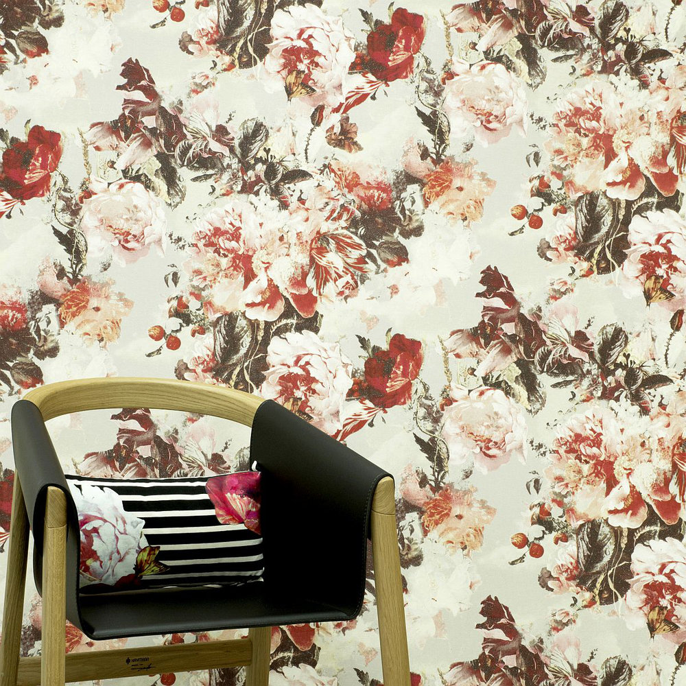 Jean Paul Gaultier Flamboyant Lacquer Wallpaper - Product code: 3301/03