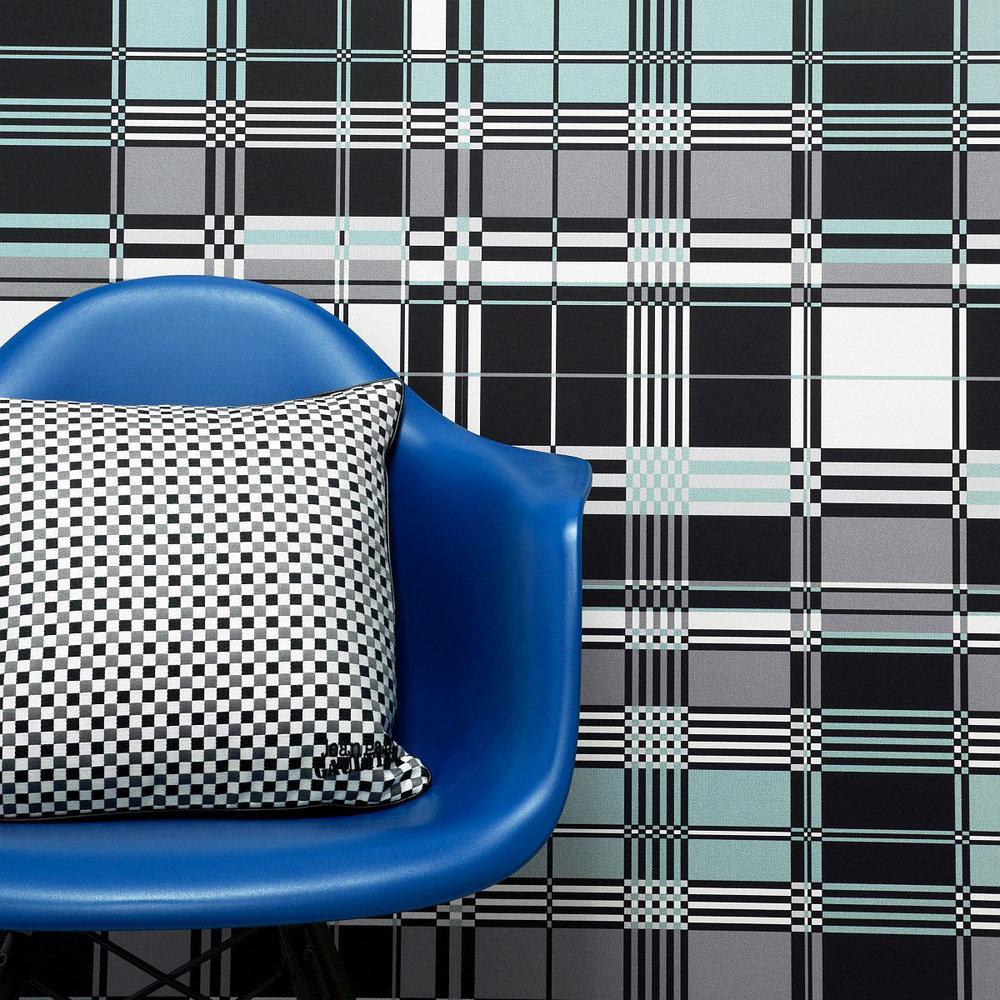 Jean Paul Gaultier Basque Sky Blue Wallpaper - Product code: 3302/01