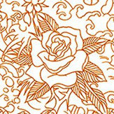 Jean Paul Gaultier Horimono Orange Wallpaper - Product code: 3303/03