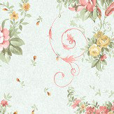 Holden Decor Sylvie  Duck egg    Wallpaper - Product code: 98690