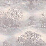 Jane Churchill Moonstruck Silver Pink Wallpaper
