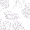 Caselio Doe Silver Wallpaper - Product code: PRLI 6922 90 93