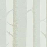 Casadeco Arbre Blue/ Grey Wallpaper