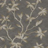 SketchTwenty 3 Acer Black / Taupe Wallpaper