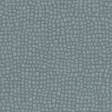 Casadeco Mosaic Dark Grey and Teal Wallpaper