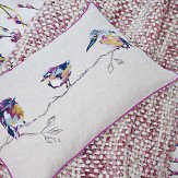 Harlequin Salice Cushion Plum