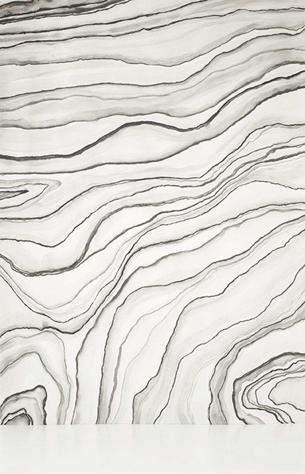 Casadeco Agate Mural Monochrome - Product code: SOWH 2743 93 28