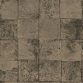 SketchTwenty 3 Mosaic Gold  / Brown Wallpaper