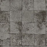 SketchTwenty 3 Mosaic Silver / Black Wallpaper