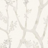 Casadeco Arbre Shadow White Wallpaper