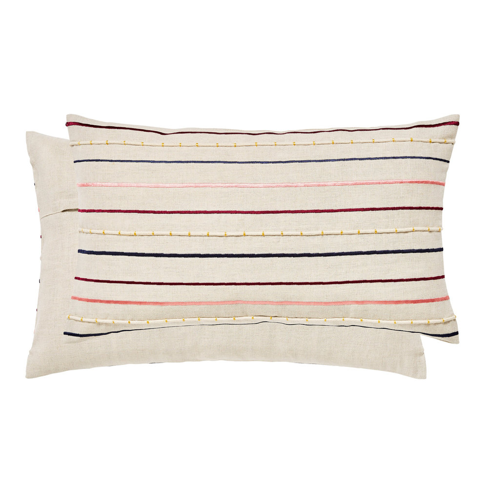 Scion Eloisa Cushion Rhubarb - Product code: 309740