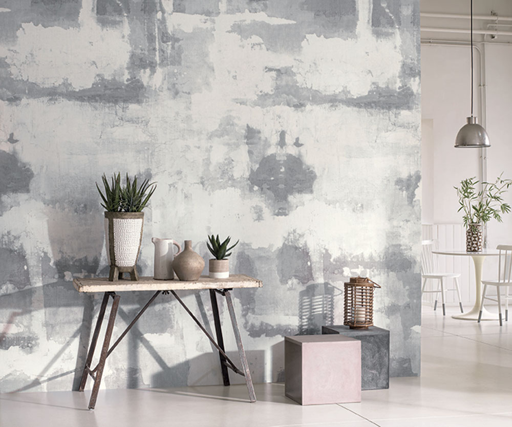 Casadeco Oxide Grey and White Mural - Product code: SOWH 2919 91 44