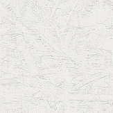 Casadeco Paint Strokes White Wallpaper