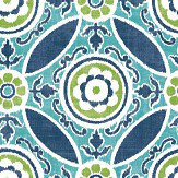 Albany Amalfi Navy Blue Wallpaper