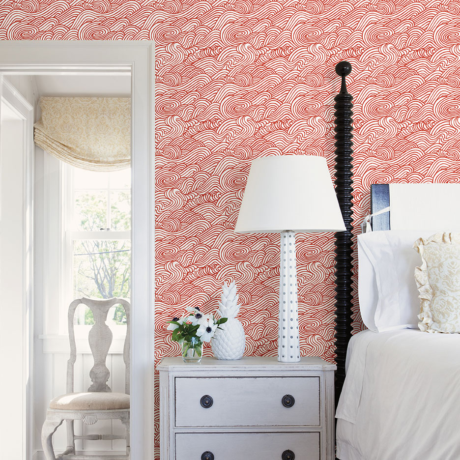 Albany Mare Red Wallpaper - Product code: 24130