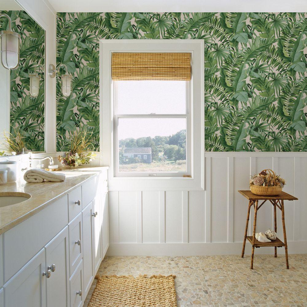 Baja Wallpaper - Green - by Albany