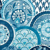 Albany Laguna Blue Wallpaper