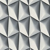 Albany Concrete Geometric Grey and White Wallpaper