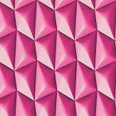 Albany Concrete Geometric Hot Pink Wallpaper