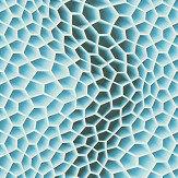 Albany Cell Structure Aqua Wallpaper - Product code: 32709-2