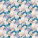 Aire Wilworth Teal Blue Wallpaper - Product code: 2016-100-05