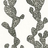 Albany Mexican Cactus Monochrome Wallpaper - Product code: 32799-2