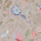 Eijffinger Spring to Life Dark Khaki Wallpaper - Product code: 375001