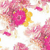 Aire Beardwood Pink / Yellow Wallpaper